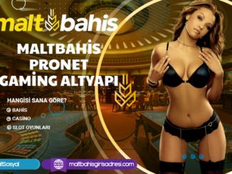 Maltbahis Pronet Gaming Altyapı Bilgileri