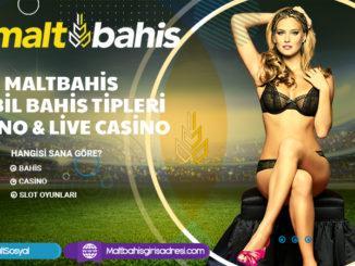 Maltbahis Mobil bahis tipleri Casino & live Casino